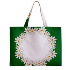 Photo Frame Love Holiday Medium Zipper Tote Bag