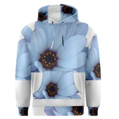 Daisy Flower Floral Plant Summer Men s Pullover Hoodie