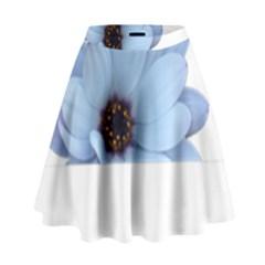 Daisy Flower Floral Plant Summer High Waist Skirt by Nexatart