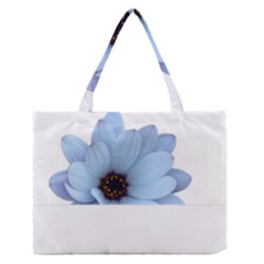 Daisy Flower Floral Plant Summer Medium Zipper Tote Bag
