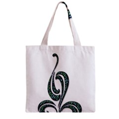 Scroll Retro Design Texture Grocery Tote Bag by Nexatart