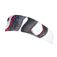 Dragon Black Red China Asian 3d Stretchable Headband