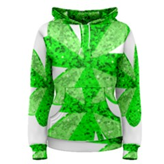 St Patricks Day Shamrock Green Women s Pullover Hoodie