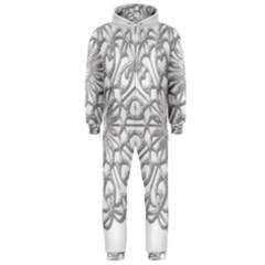 Scrapbook Side Lace Tag Element Hooded Jumpsuit (men)