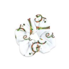 Scroll Magic Fantasy Design Velvet Scrunchie