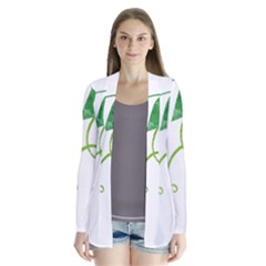 Scrapbook Green Nature Grunge Cardigans