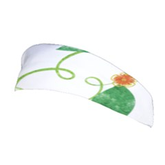 Scrapbook Green Nature Grunge Stretchable Headband