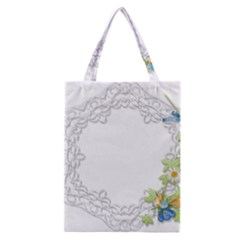 Scrapbook Element Lace Embroidery Classic Tote Bag by Nexatart