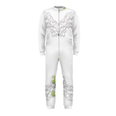 Scrapbook Element Lace Embroidery Onepiece Jumpsuit (kids)