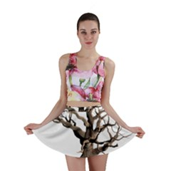 Tree Isolated Dead Plant Weathered Mini Skirt by Nexatart