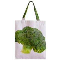 Broccoli Bunch Floret Fresh Food Zipper Classic Tote Bag