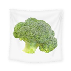 Broccoli Bunch Floret Fresh Food Square Tapestry (small)