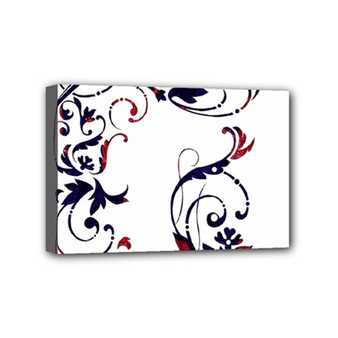 Scroll Border Swirls Abstract Mini Canvas 6  X 4  by Nexatart