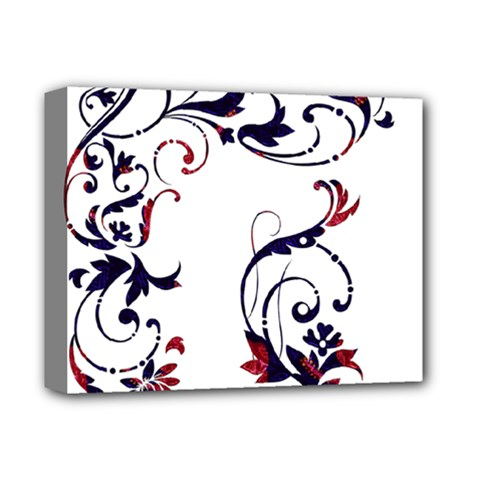Scroll Border Swirls Abstract Deluxe Canvas 14  X 11  by Nexatart
