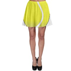 Tennis Ball Ball Sport Fitness Skater Skirt
