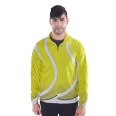 Tennis Ball Ball Sport Fitness Wind Breaker (men)
