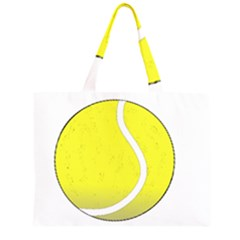 Tennis Ball Ball Sport Fitness Large Tote Bag