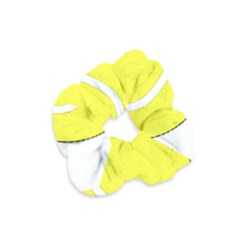 Tennis Ball Ball Sport Fitness Velvet Scrunchie by Nexatart