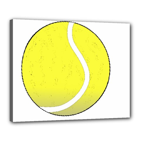 Tennis Ball Ball Sport Fitness Canvas 20  X 16