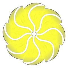 Tennis Ball Ball Sport Fitness Straight Umbrellas by Nexatart