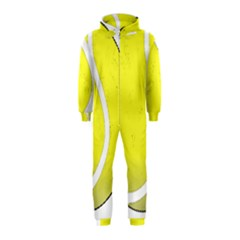 Tennis Ball Ball Sport Fitness Hooded Jumpsuit (kids)