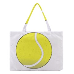 Tennis Ball Ball Sport Fitness Medium Tote Bag by Nexatart