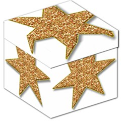 Star Glitter Storage Stool 12
