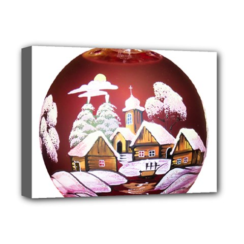 Christmas Decor Christmas Ornaments Deluxe Canvas 16  X 12