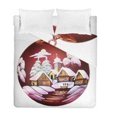 Christmas Decor Christmas Ornaments Duvet Cover Double Side (full/ Double Size) by Nexatart