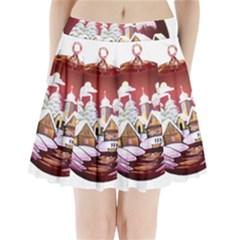 Christmas Decor Christmas Ornaments Pleated Mini Skirt