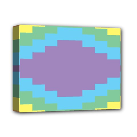 Carmigender Flags Rainbow Deluxe Canvas 14  X 11  by Mariart