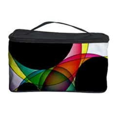 Apollonius Color Multi Circle Polkadot Cosmetic Storage Case by Mariart