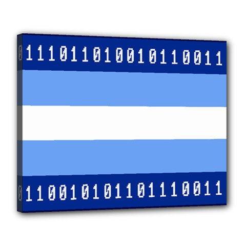 Digigender Cute Gender Gendercute Flags Canvas 20  X 16  by Mariart