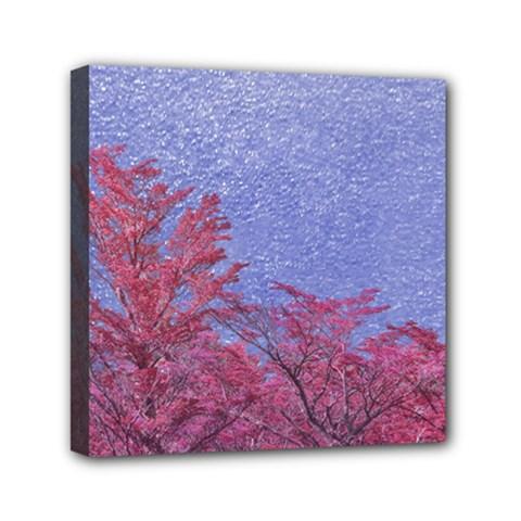 Fantasy Landscape Theme Poster Mini Canvas 6  X 6  by dflcprints