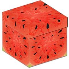 Summer Watermelon Design Storage Stool 12   by TastefulDesigns