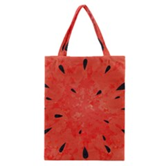 Summer Watermelon Design Classic Tote Bag by TastefulDesigns