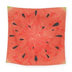 Summer Watermelon Design Square Tapestry (large) by TastefulDesigns