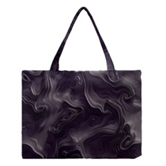 Map Curves Dark Medium Tote Bag by Mariart