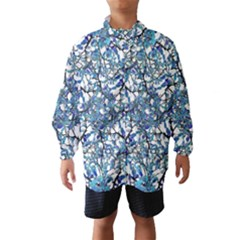 Modern Nouveau Pattern Wind Breaker (kids) by dflcprintsclothing