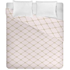 Plaid Star Flower Iron Duvet Cover Double Side (california King Size) by Mariart