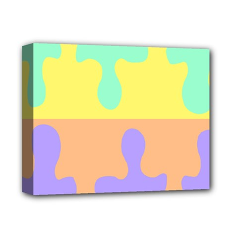 Puzzle Gender Deluxe Canvas 14  X 11  by Mariart