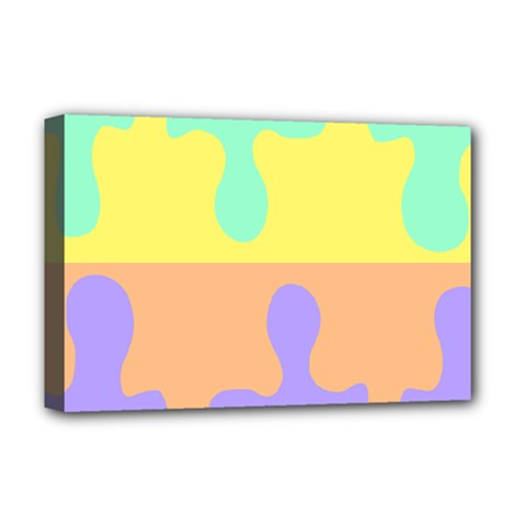 Puzzle Gender Deluxe Canvas 18  X 12   by Mariart