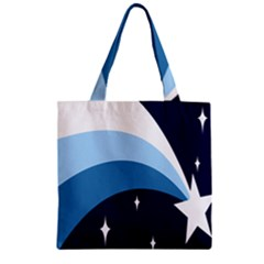 Star Gender Flags Zipper Grocery Tote Bag by Mariart