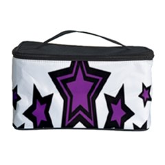 Star Purple Space Cosmetic Storage Case by Mariart