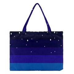 Stra Polkadot Polka Gender Flags Medium Tote Bag by Mariart