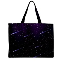 Starry Night Sky Meteor Stock Vectors Clipart Illustrations Mini Tote Bag by Mariart