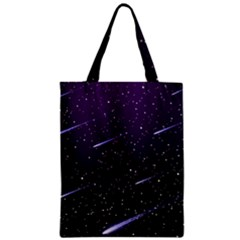 Starry Night Sky Meteor Stock Vectors Clipart Illustrations Classic Tote Bag by Mariart