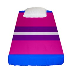 Transgender Flags Fitted Sheet (single Size) by Mariart