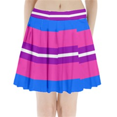 Transgender Flags Pleated Mini Skirt