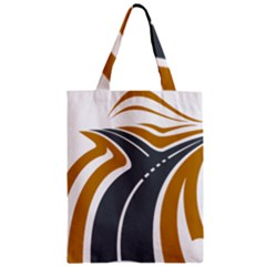 Transparent All Road Tours Bus Charter Street Zipper Classic Tote Bag by Mariart